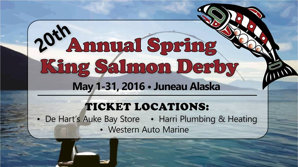 Last year's Spring King Salmon Derby in Juneau ran for all of May. This year's was cancelled due to poor salmon returns. (Image courtesy Spring King Salmon Derby)