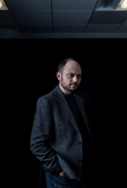 Russian opposition activist Vladimir Kara-Murza says he was poisoned twice; he blames the Kremlin.