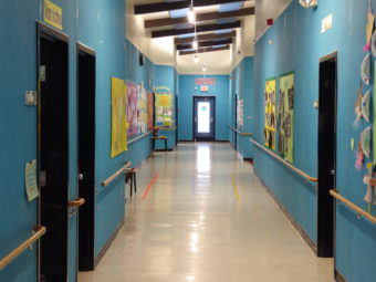 Hallway in Mendenhall River Community School on Thursday, Mar. 2, 2017.