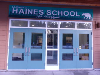 The Haines Borough has taken out more than $18 million in bonds to pay for a new school and renovations. (Photo by Emily Files/KHNS)