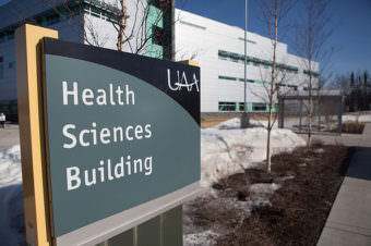 The Health Sciences Building on the campus of the University of Alaska Anchorage (Photo courtesy University of Alaska Anchorage)