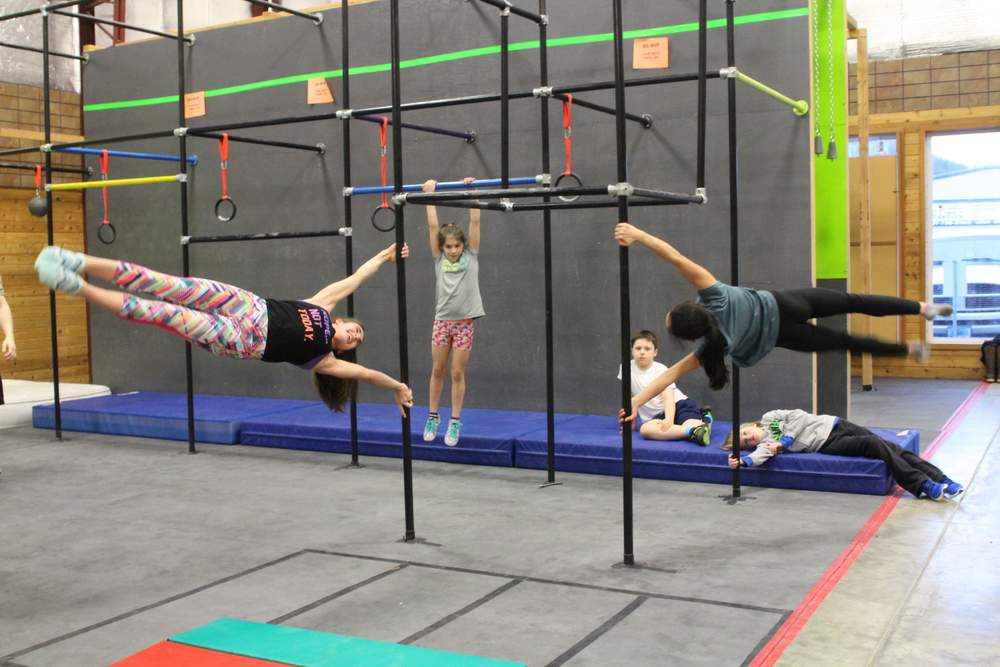 When becoming an alaskan ninja warrior becomes a family affair
