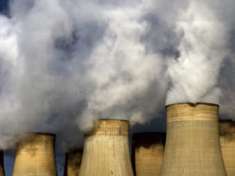 Britain expects to go 24 hours without using coal to generate electricity Friday. It would be the first full day since the Industrial Revolution. David Davies/AP
