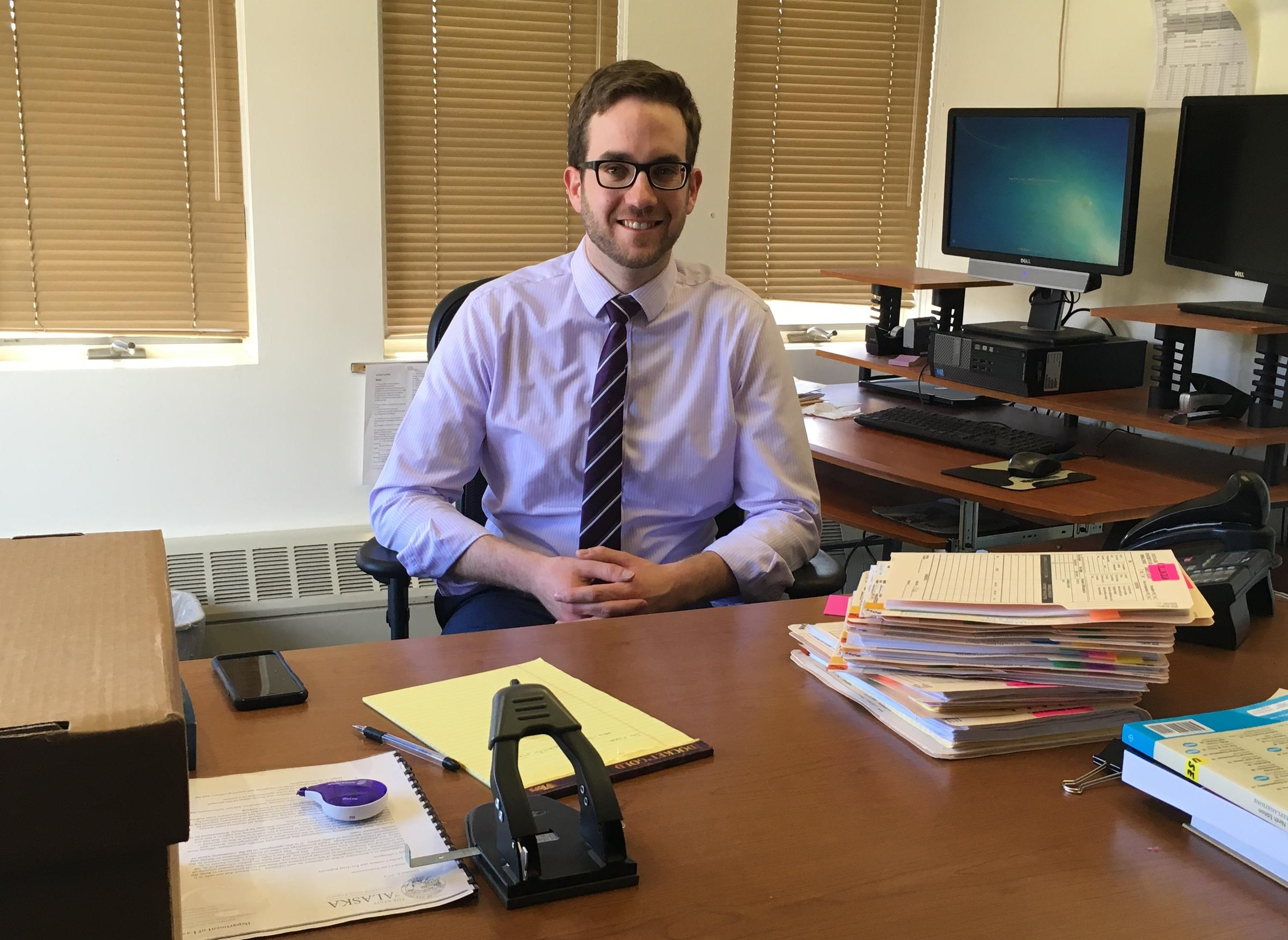 New Dillingham Assistant District Attorney Dan Doty Is Taking Over The  Caseload From Pamela Dale,