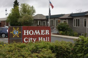 Homer City Hall (Photo courtesy of City of Homer)