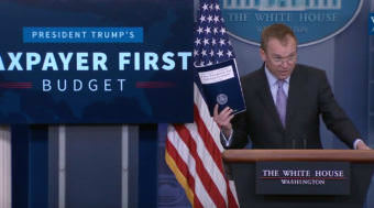 Office of Management and Budget Director Mick Mulvaney. (Photo courtesy Whitehouse.gov)
