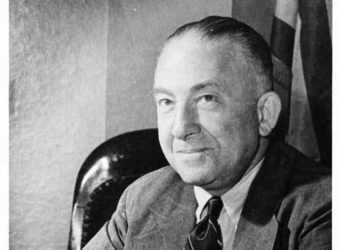 Ernest Gruening was Alaska's governor from 1939 to 1953. He signed the income tax into law in 1949