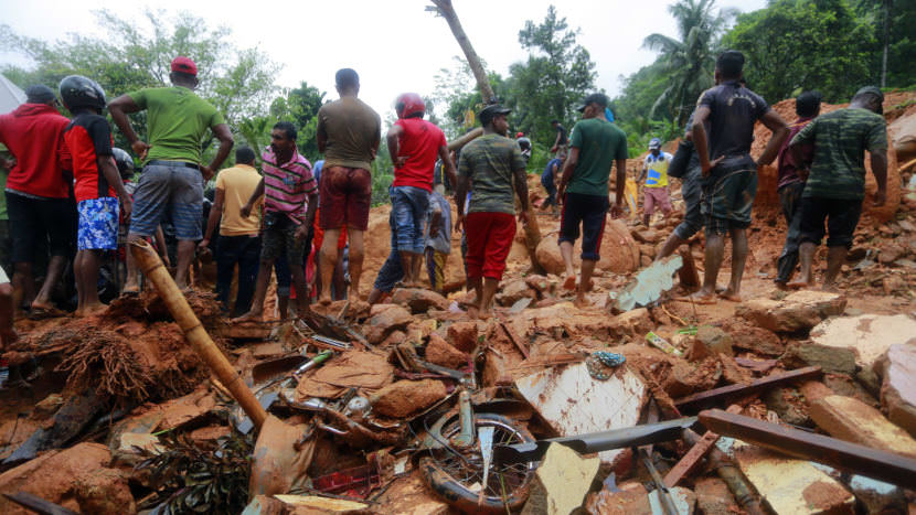 Sri Lanka Races To Rescue Flood Victims As The Death Toll Increases