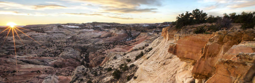 The Grand Staircase-Escalante National Monument in Utah.