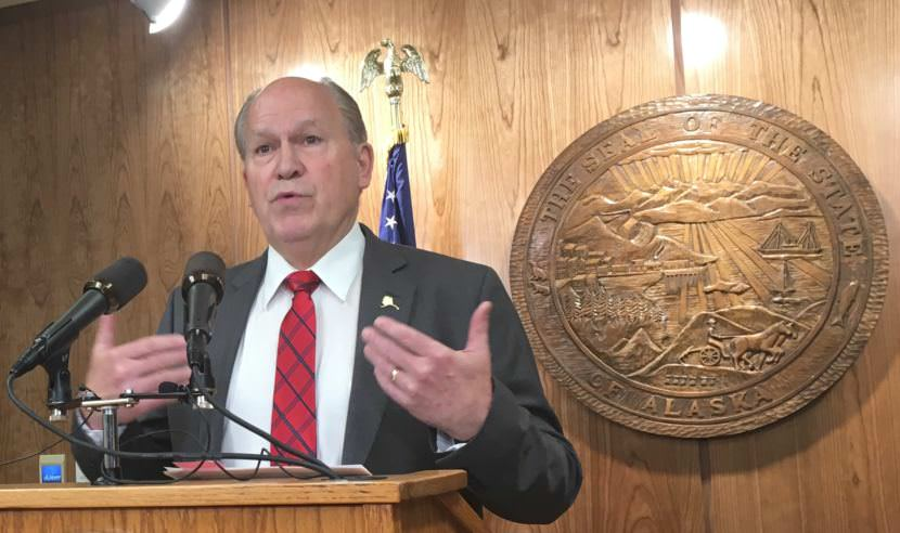 Alaska governor calls budget special session