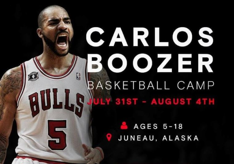 (Photo provided by the Carlos Boozer Camp)
