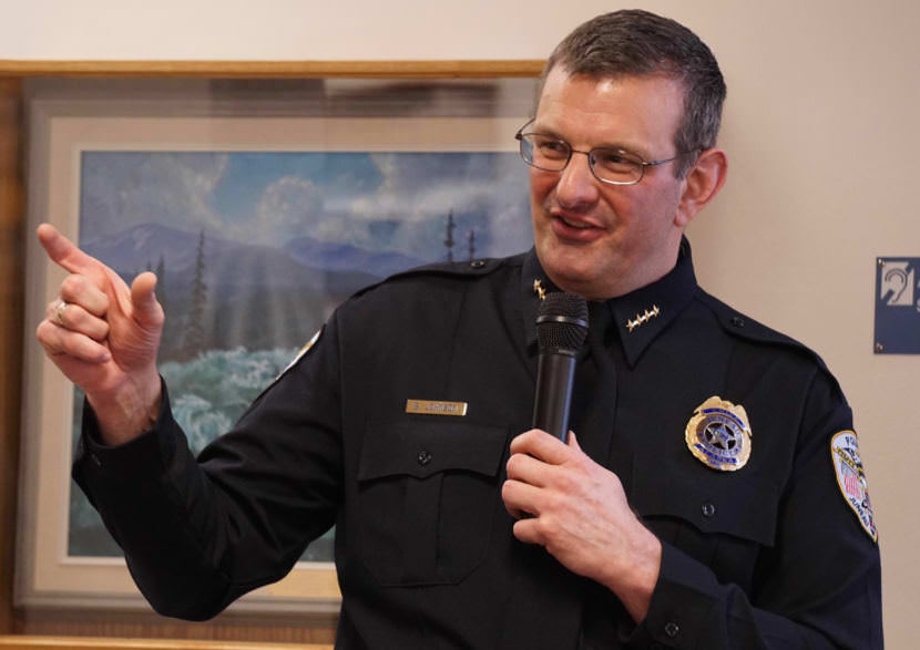 Juneau Police Chief Bryce Johnson