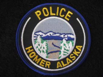Homer police patch