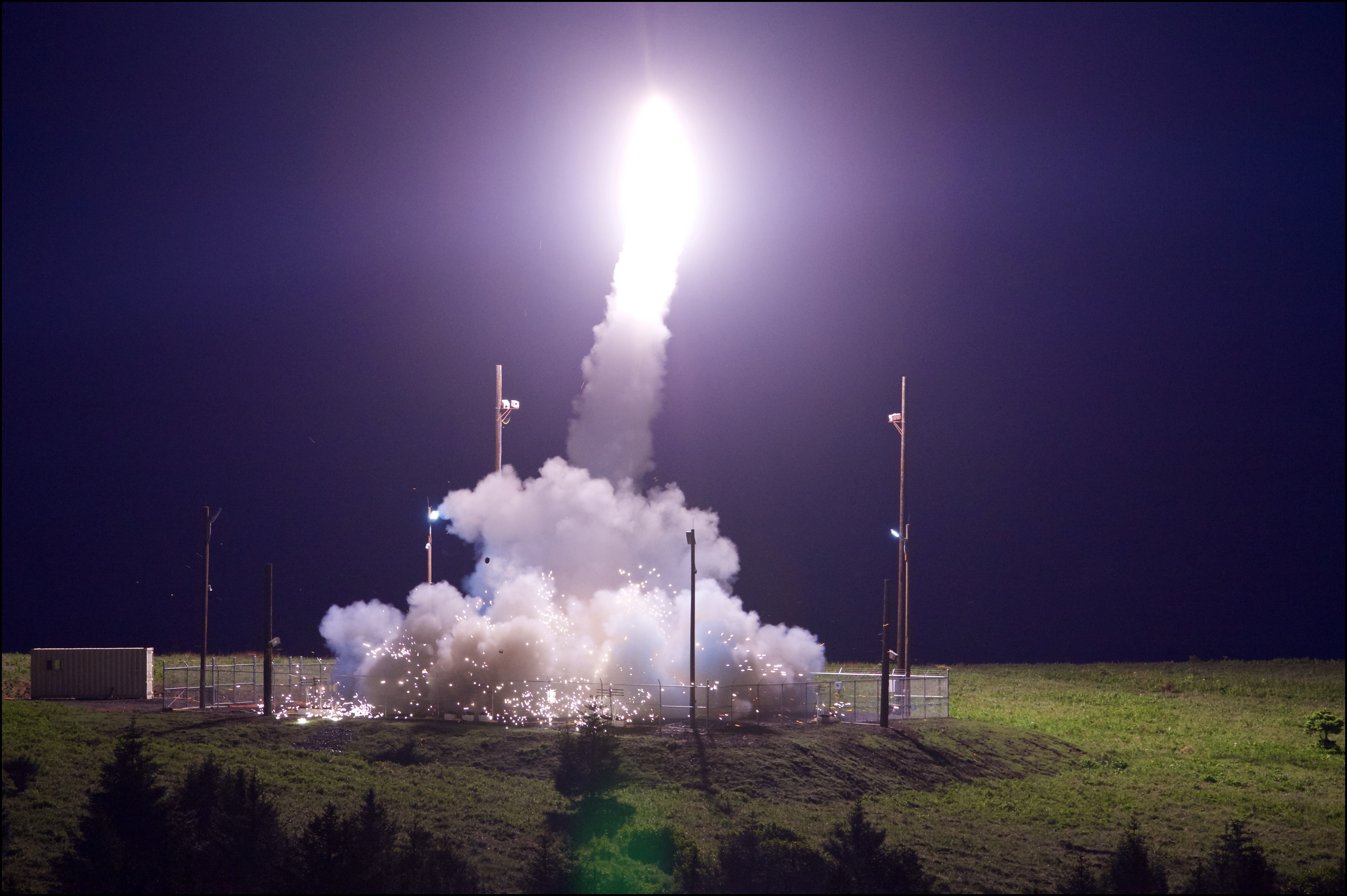 United States says test of THAAD missile defense system in Alaska hits target