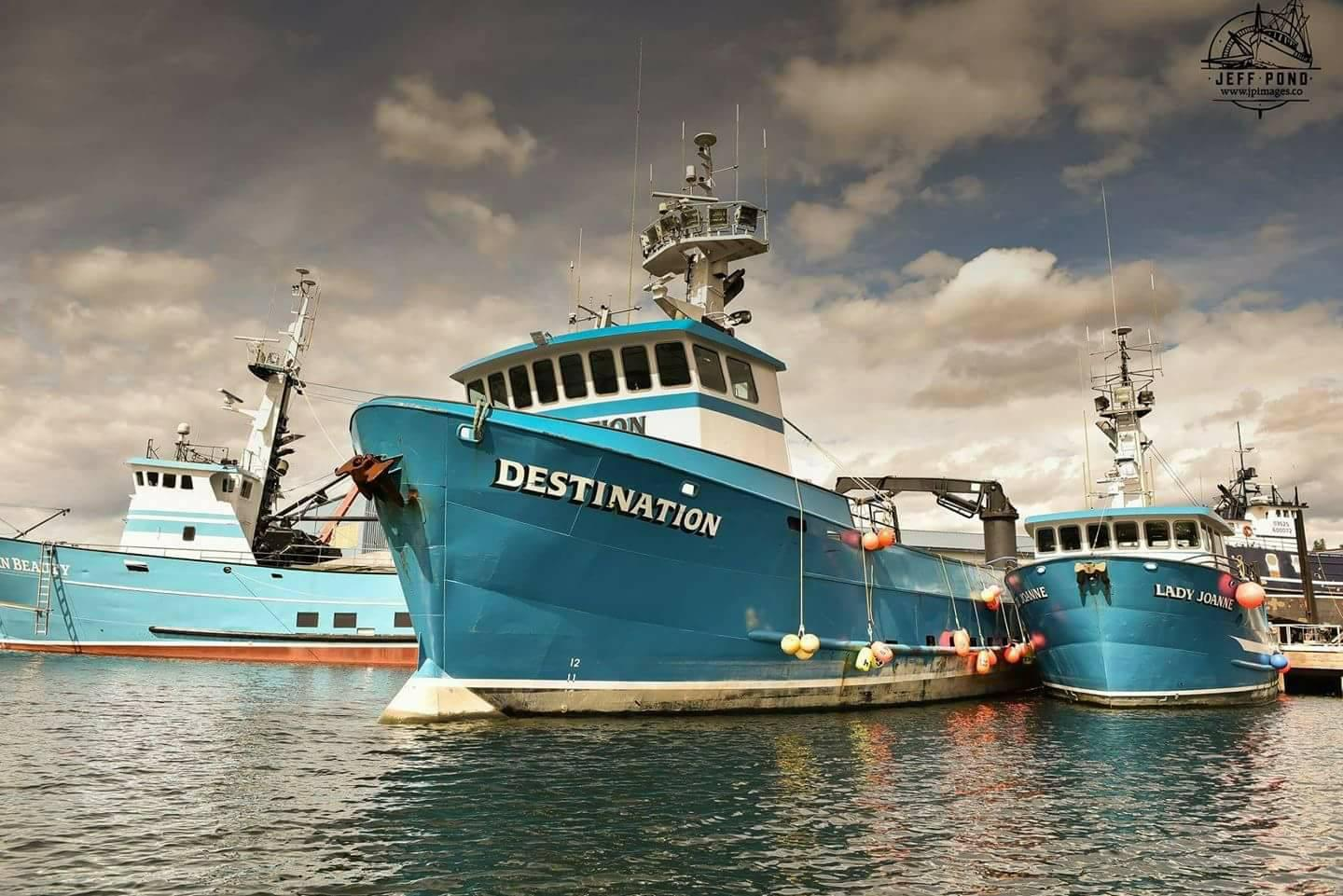 Six F/V Destination crew members died when their boat disappeared in February near St. George Island, marking the deadliest accident in more than a decade for the Bering Sea crab fleet. The Coast Guard is holding public hearings as part of its investigation into the Destination's sinking. (Photo courtesy F/V Destination Memorial Fund)