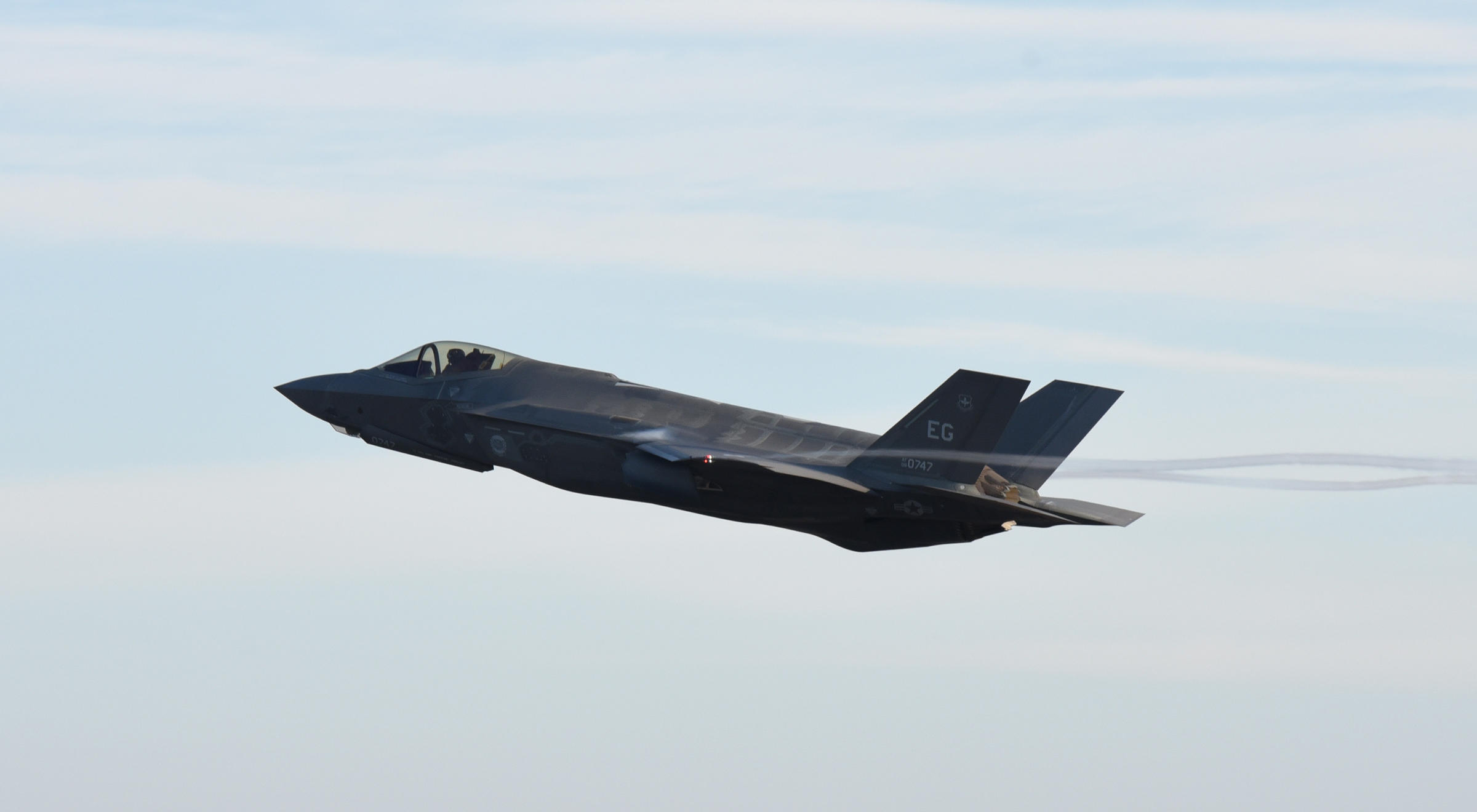 The economic benefits that will come with two squadrons of F-35s scheduled to be based at Eielson beginning in 2021 are now expected to draw more than 5,000 people to the area, a consultant said Monday. (U.S. Air Force photo by Staff Sgt. Alex Fox Echols III/Released)