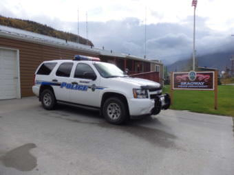 The old Skagway Police Department. (File photo by Emily Files/KHNS)