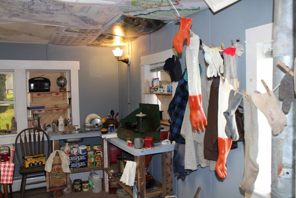 A look into one of the museum's exhibits. (Photo courtesy of the Baranov Museum)