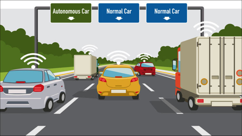 Tech investors want to turn HOV lanes on Interstate 5 between Seattle and Vancouver into shared lanes with autonomous vehicles. It would be the first step toward an exclusively autonomous vehicle highway.