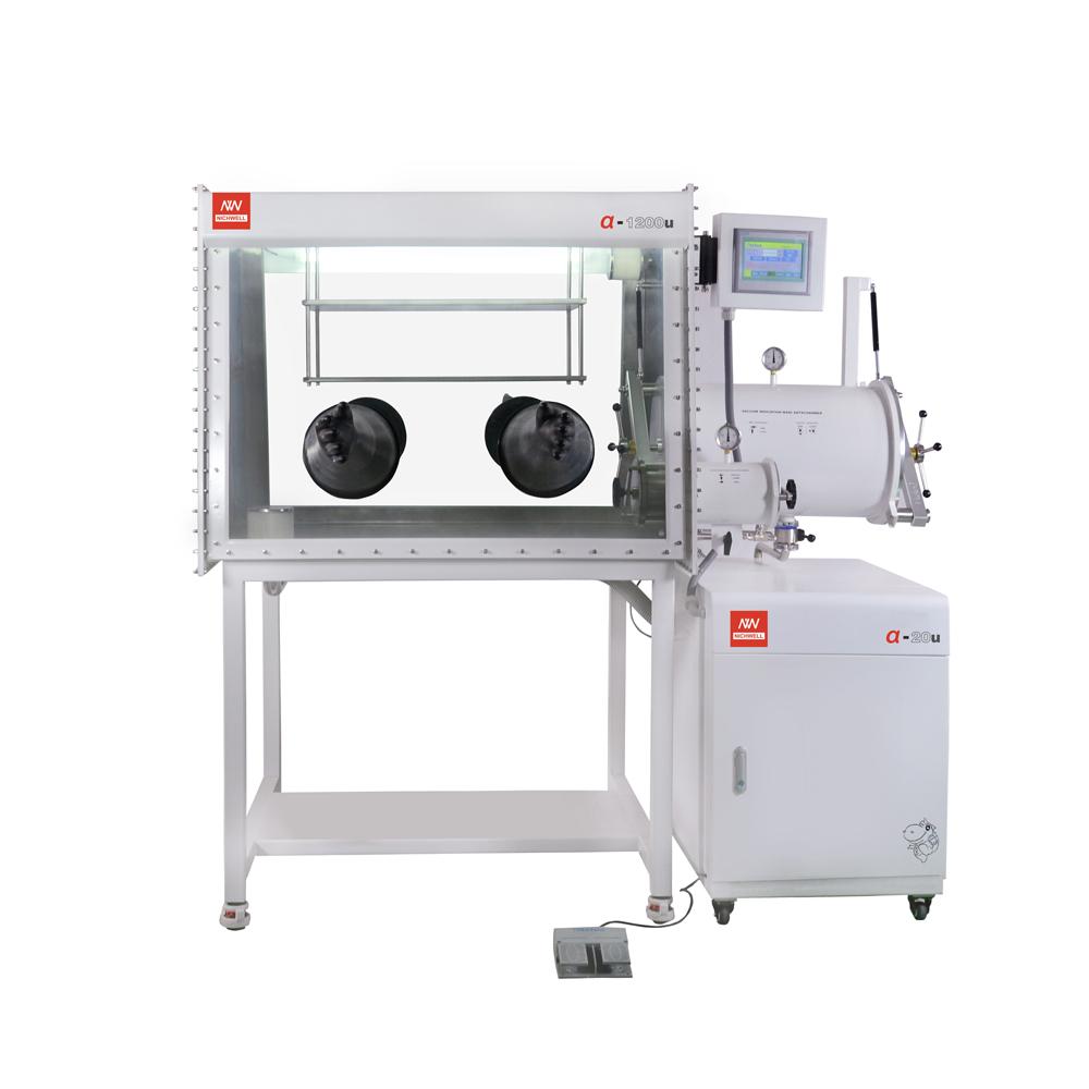 α-1200U Separated Two-sided Inert Vacuum Controlled Atmospheres Glovebox