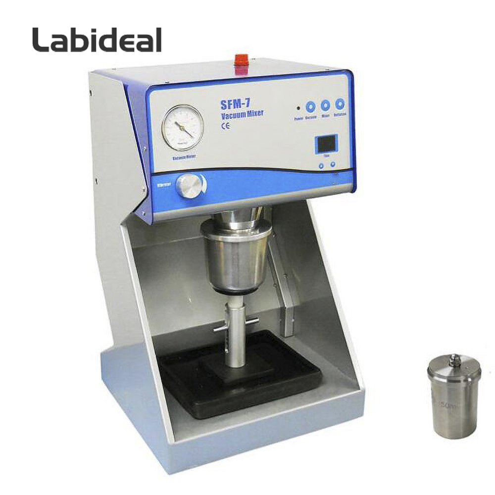 Lab Compact Vacuum Mixer Machine for Battery Material Mixing