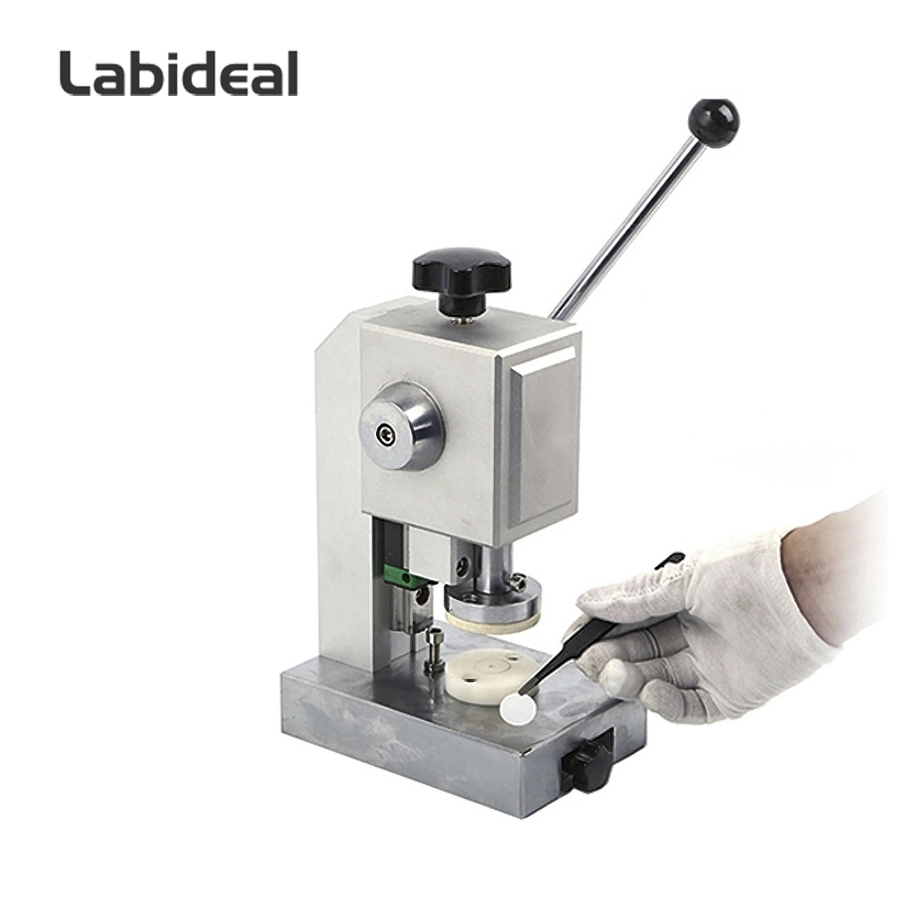 Precision Lab Coin Cell Disc Cutter with Optional 6-24mm Punching Die