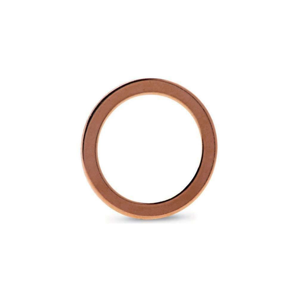 CF25 Metric Copper Flat Gasket Sealing Ring Crush Washer For Vacuum Pump