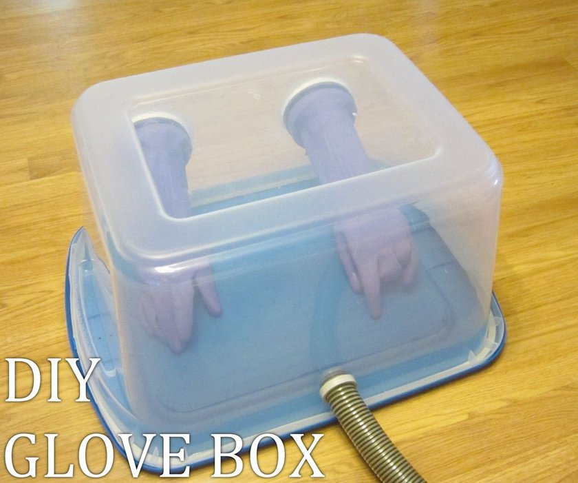 DIY Glove Box