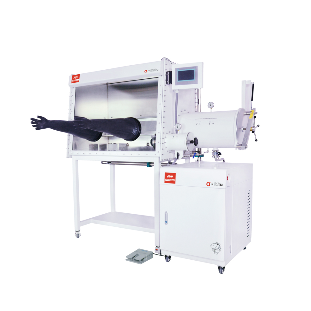 Glove Box with Gas Purification System