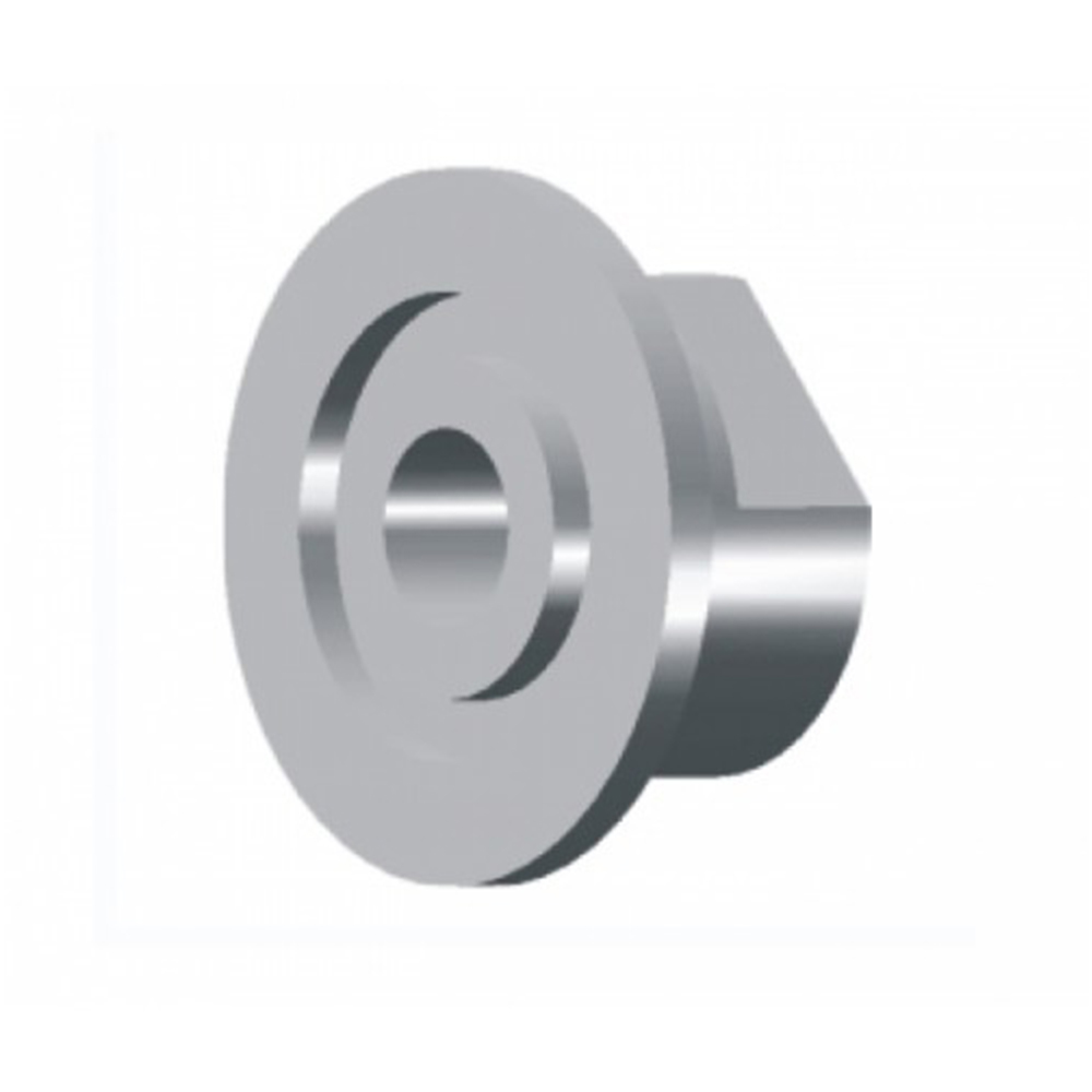 KF (QF) 25 to 3/8 Inch NPT Female Adapter 304 Stainless Steel