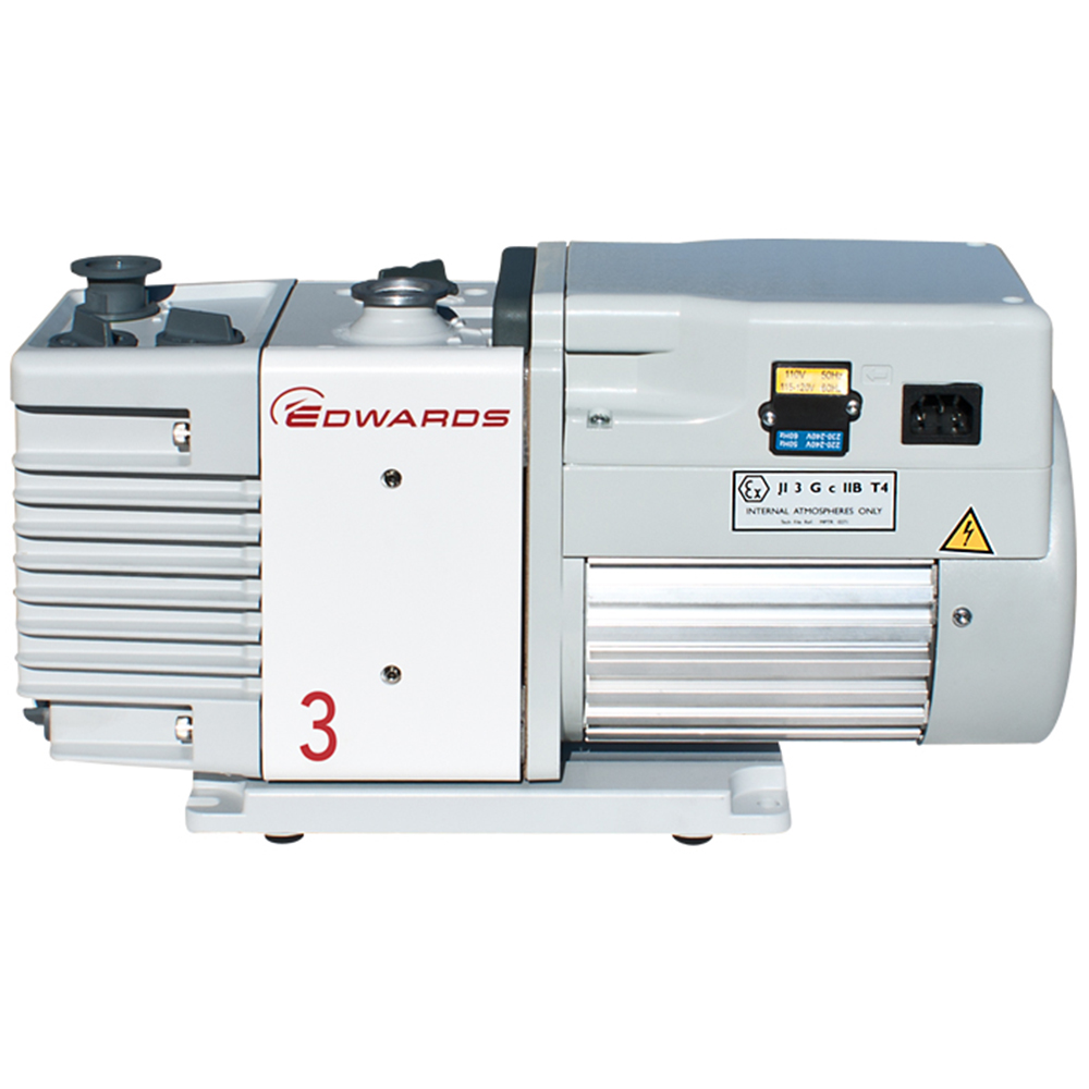 NEW Edwards 3 RV3 Rotary Vane Dual Stage Mechanical Vacuum Pump