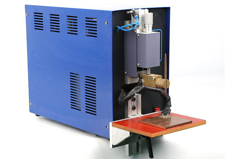 Pneumatic Battery Spot Welder Machine for Cylinder Cell Welding