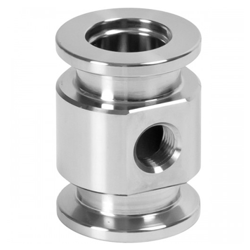 TEE, ADAPTIVE, KF (QF) 40 to 1/4″ FEMALE, NPT, ALUM