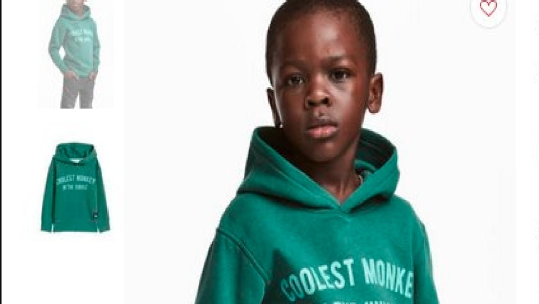 Acusan de racista a la marca H&M por propaganda con niño de color ...