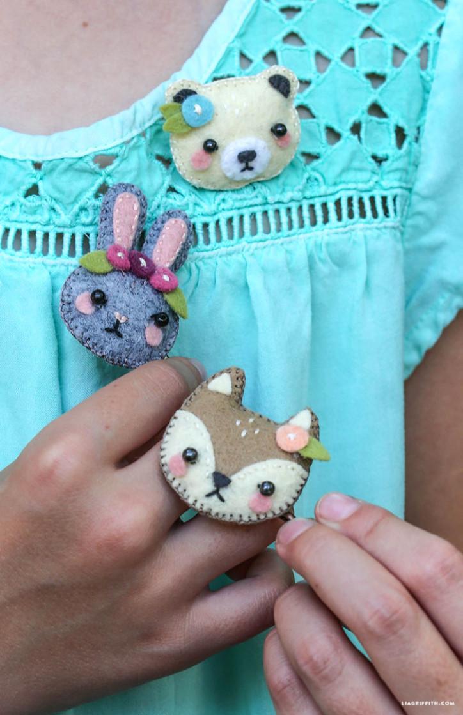 Как сделать из ткани животных