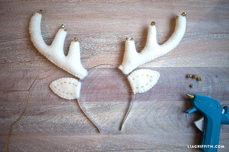 Как сделать рожки олененка своими руками