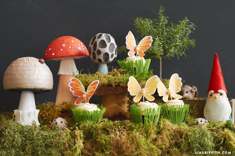Fairy Tale Mushroom Decor - Lia Griffith