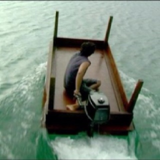 The Giant Upside Down Coffee Table Boat Model A