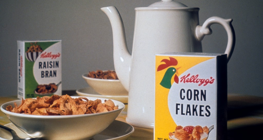 Kelloggs cereal circa 1950's (Ref: Binder 2 00397_s_10ag6ctwzj0395)