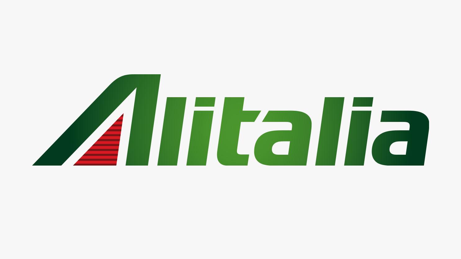 Alitalia identity rebrand