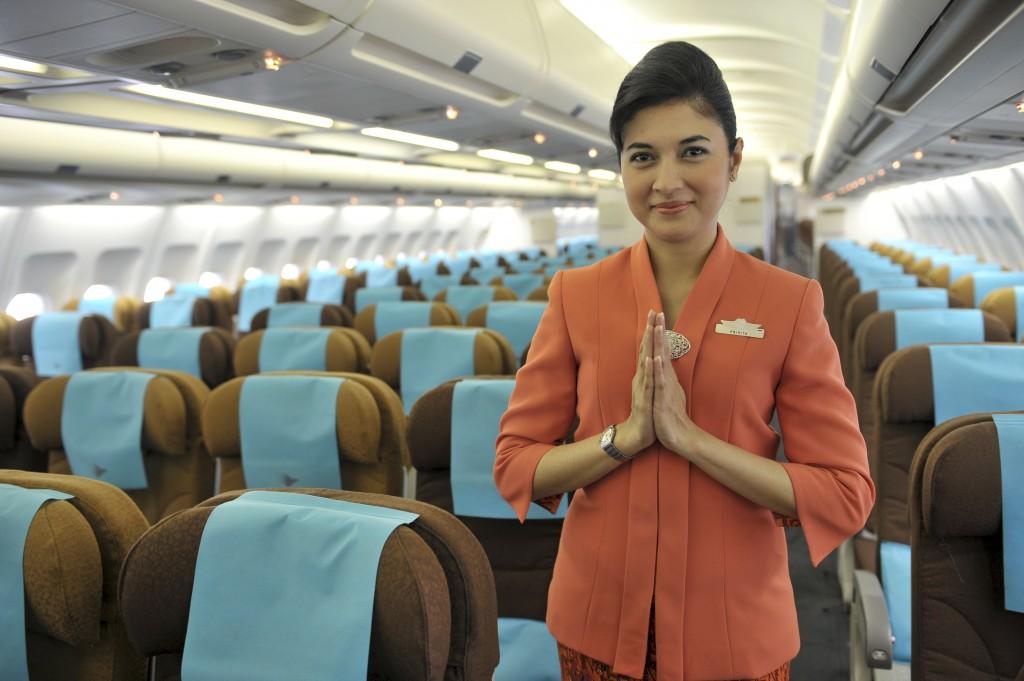Garuda Indonesia Plane Environment