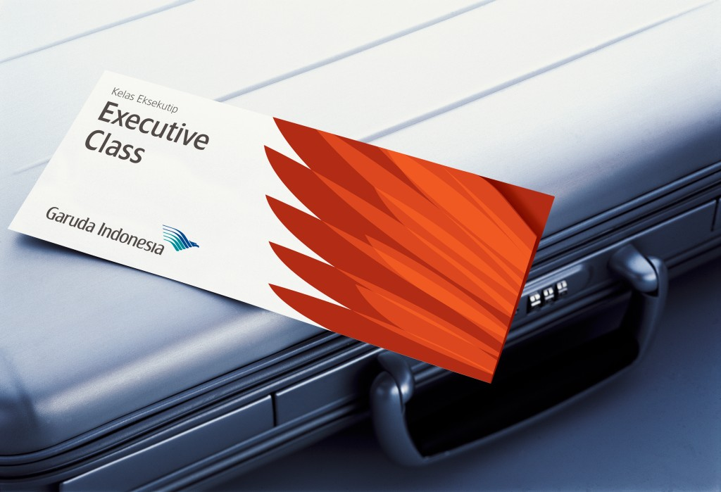 Garuda Indonesia Executive Class Card