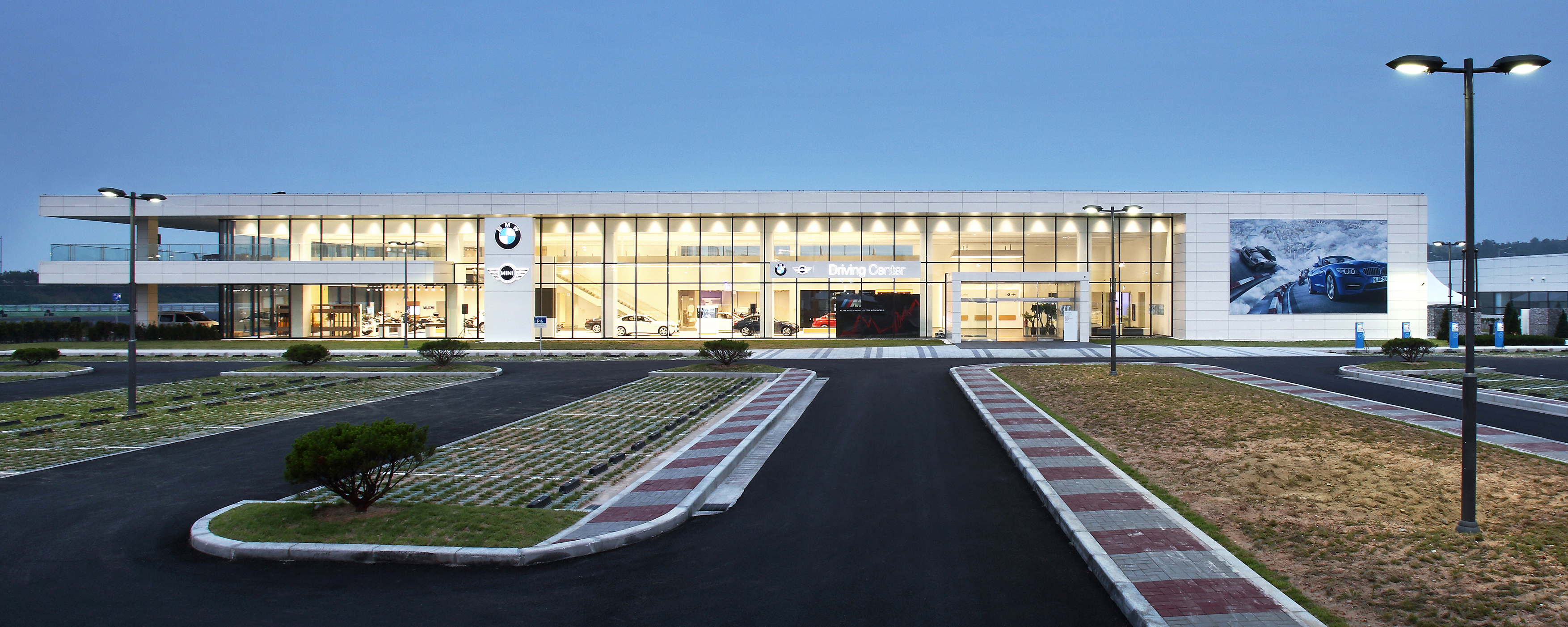 BMW Store Environments from Outside