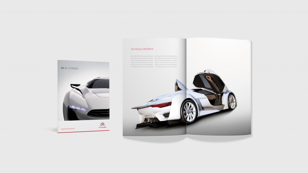 Citroën Magazine Spread