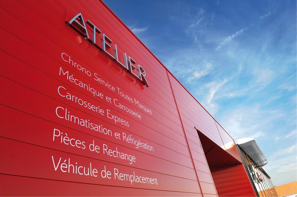 Citroën Exterior Signage