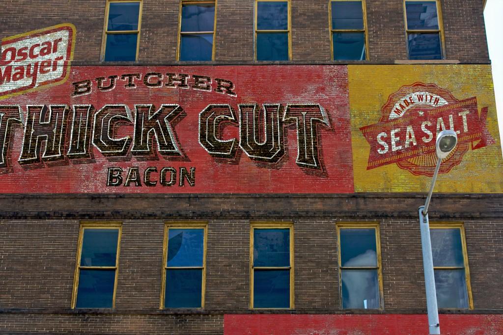 Oscar Mayer Butcher Thick Cut Bacon Advertising Wall