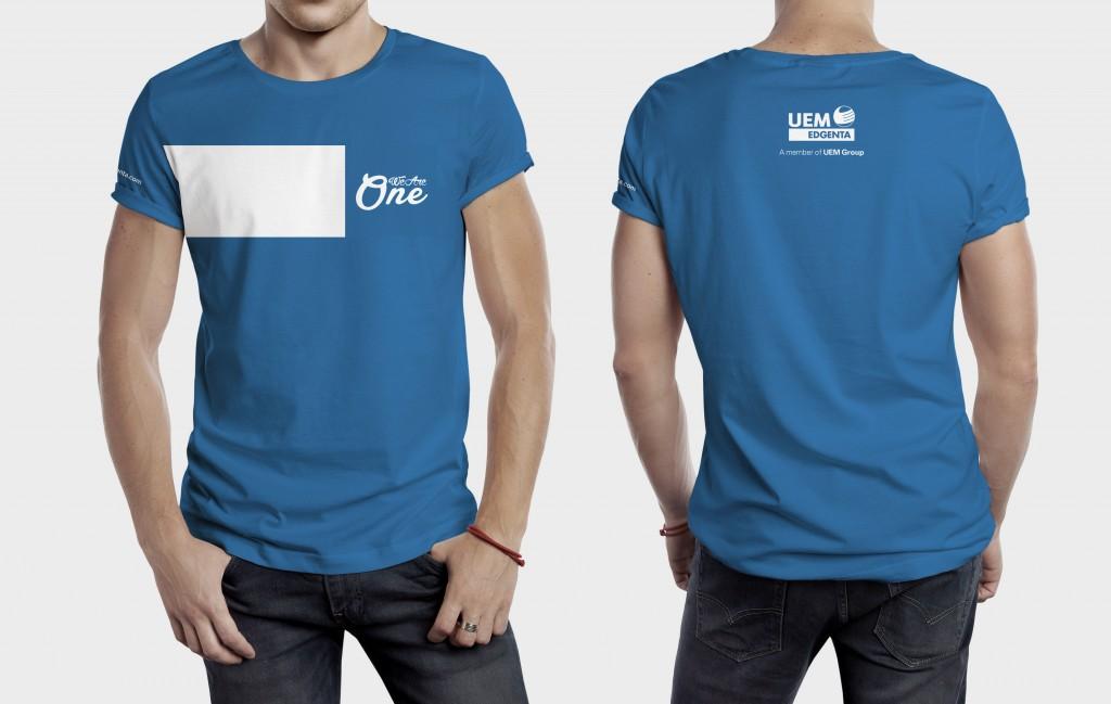 UEM Edgenta Staff Shirts at Launch