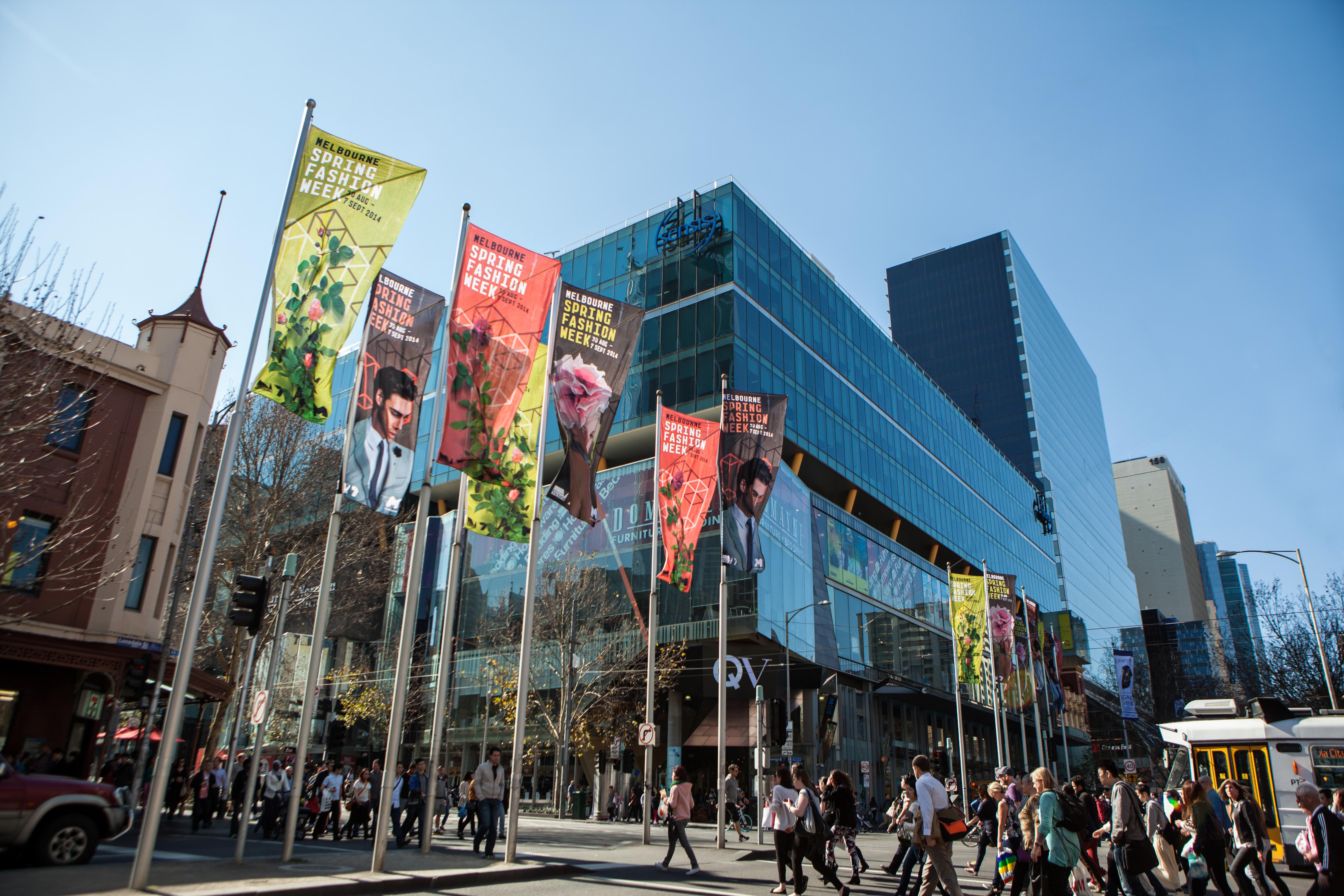 Melbourne Spring Fashion Week identity