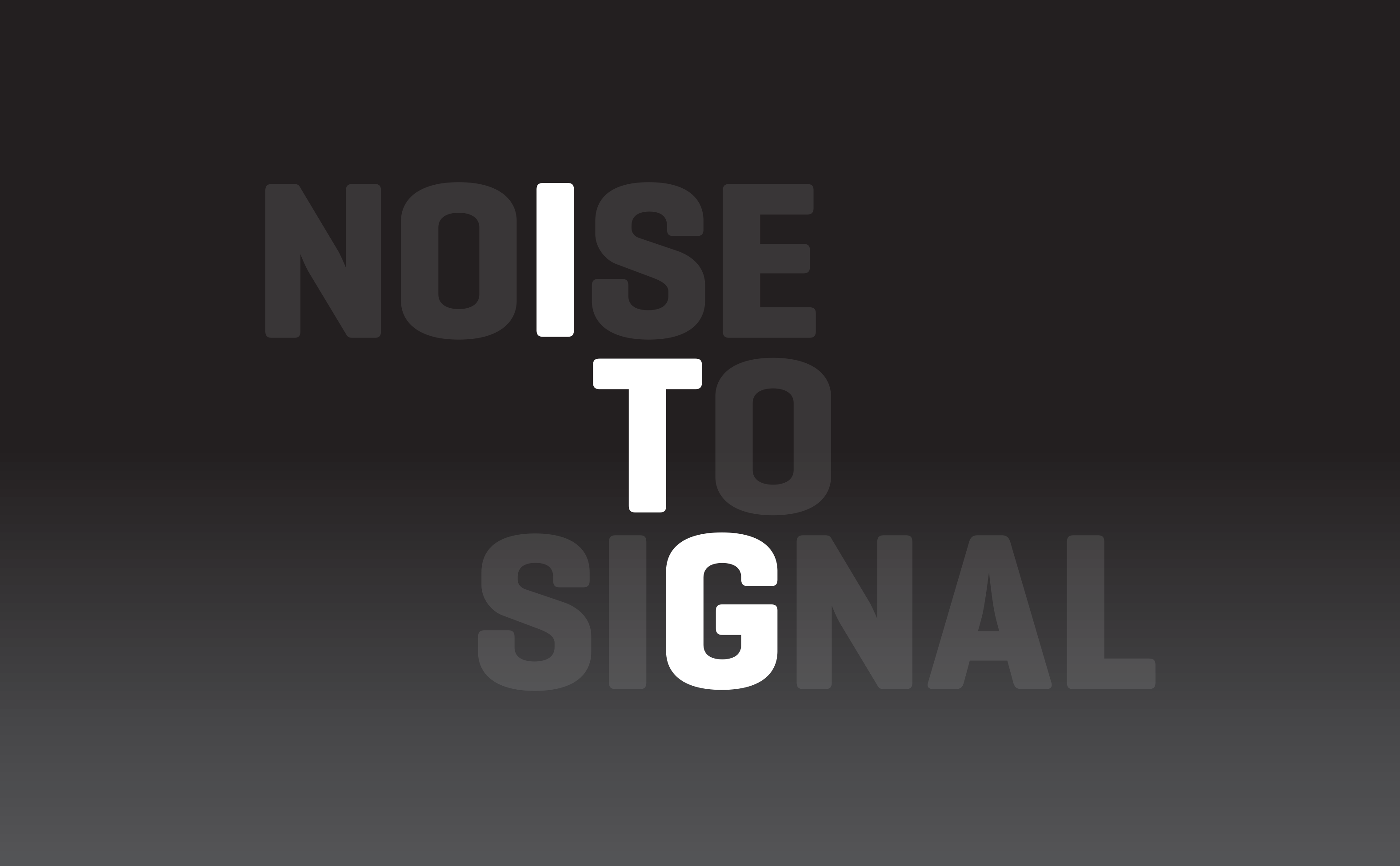 ITG NoiseToSignal