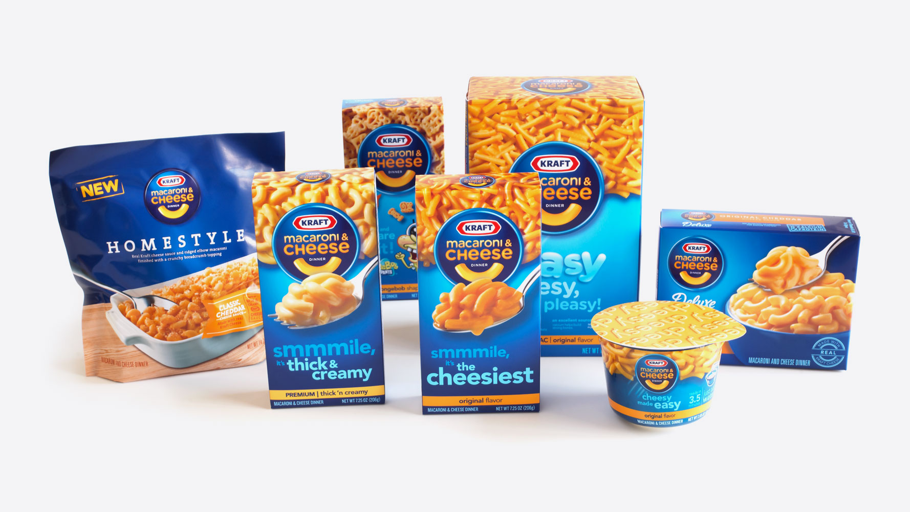 Kraft Macaroni & Cheese Product Portfolio